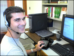 picture of our friendly helpdesk staff